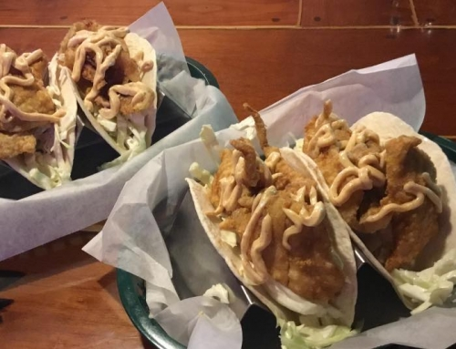 Fish Tacos Special EXTENDED! NOW Every Thursday Through April 30th!